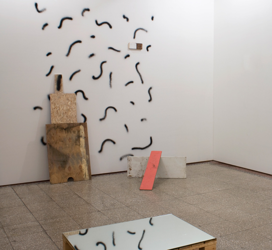 Exhibited at the Group Show Terskel, National Museum of Contemporary Art Oslo, 2009